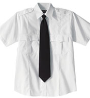 Custom Security Cotton Blend Short Sleeve Shirt