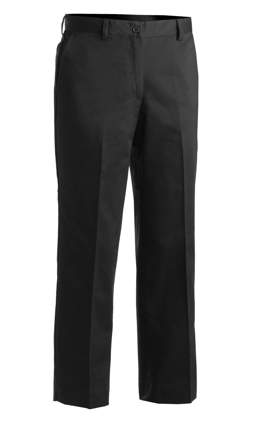 Womens Flat Front Pant