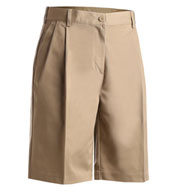 Custom Edwards Misses Pleated Utility Short