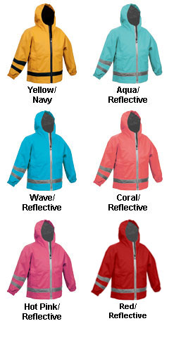 Toddler New Englander Rain Jacket by Charles River Apparel - All Colors