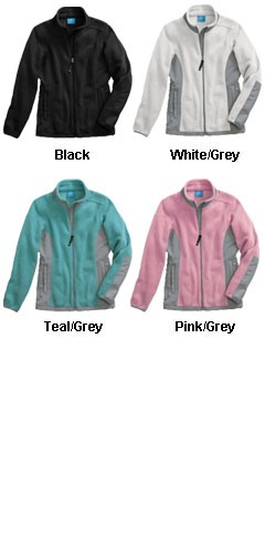 Womens Evolux™ Fleece Jacket by Charles River Apparel - All Colors