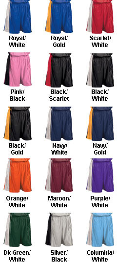 Youth Dazzle Basketball Short - 7 inseam - All Colors