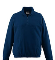 Custom Augusta Youth Chill Fleece Half-Zip Pullover
