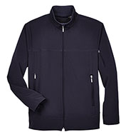 Custom Mens Performance Brushed Back Soft Shell Jacket