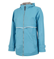 Custom Charles River Womens New Englander Rain Jacket