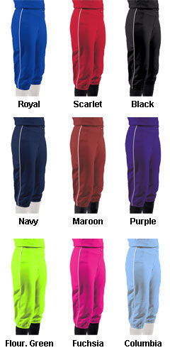 Youth Girls Turn Two Softball Pants - All Colors
