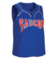 Custom Womens Turn Two Softball Jersey