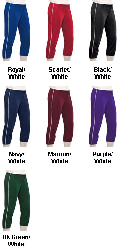 Youth Girls All-Star Softball Pant - All Colors