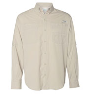 Custom Columbia Mens Tamiami II Long Sleeve Woven Shirt