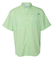Custom Columbia Mens Tamiami II Short  Sleeve Woven Shirt