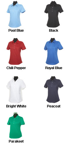 Ladies Textured Performance Polo by Callaway - All Colors