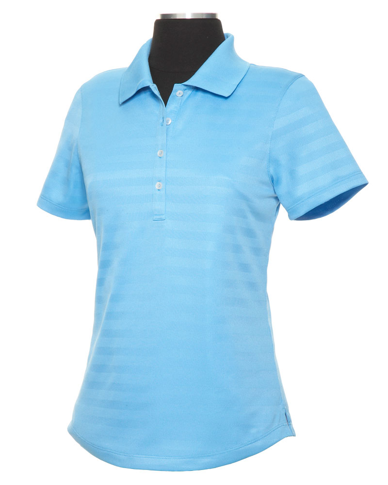 Ladies Textured Performance Polo by Callaway