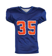 Custom Youth  Fleaflicker Reversible Football Jersey