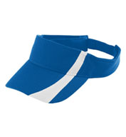 Custom Augusta Adult Adjustable Wicking Mesh Two-Color Visor
