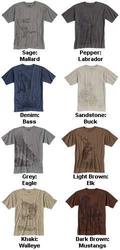 Dri-Duck Wildlife Fashion T-Shirt - All Colors