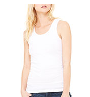 Custom Bella + Canvas Ladies 1 X 1 Rib Tank Top