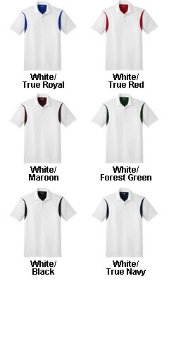 Back Blocked Micropique Sport-Wick ® Sport Shirt - All Colors