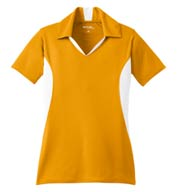 Custom Sport-Tek® Ladies Side Blocked Micropique Sport-Wick® Coaches Polo
