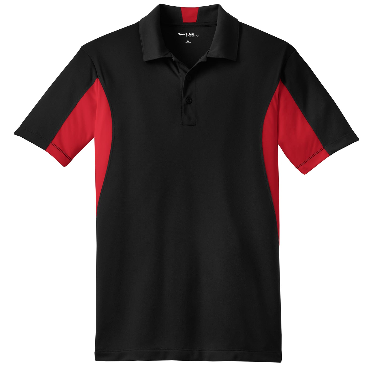Sport-Tek® Mens Side Blocked Micropique Sport-Wick®  Polo
