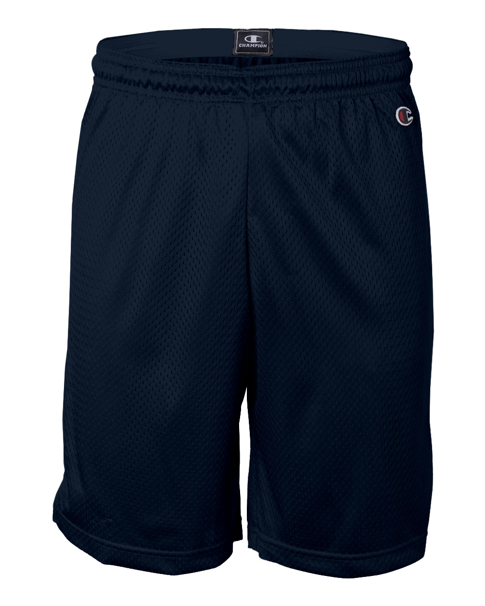 Adult Champion Polyester Mesh Shorts With 9 inseam
