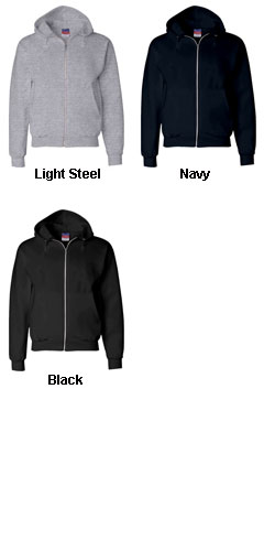 Champion Youth Heavyweight Full-Zip Hooded Sweatshirt - All Colors