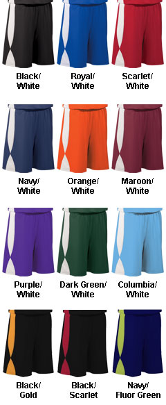 Youth Overdrive Reversible Short with 7 Inseam - All Colors