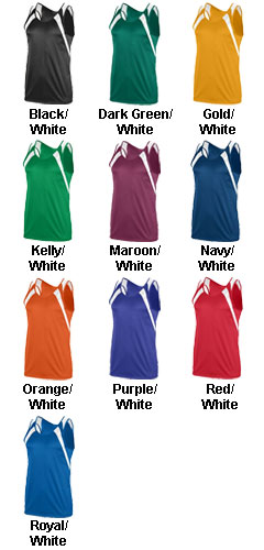 Youth Wicking Tank with Shoulder Insert - All Colors