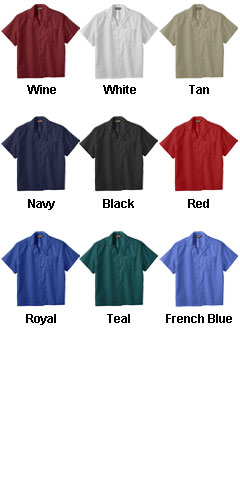 Easy Care Poplin Camp Shirt - All Colors