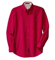 Custom Port Authority® Mens Long Sleeve Easy Care Shirt