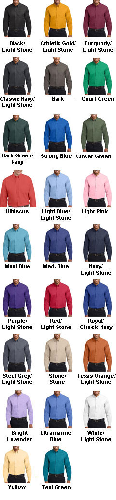 Big Long Sleeve Easy Care Shirt - All Colors