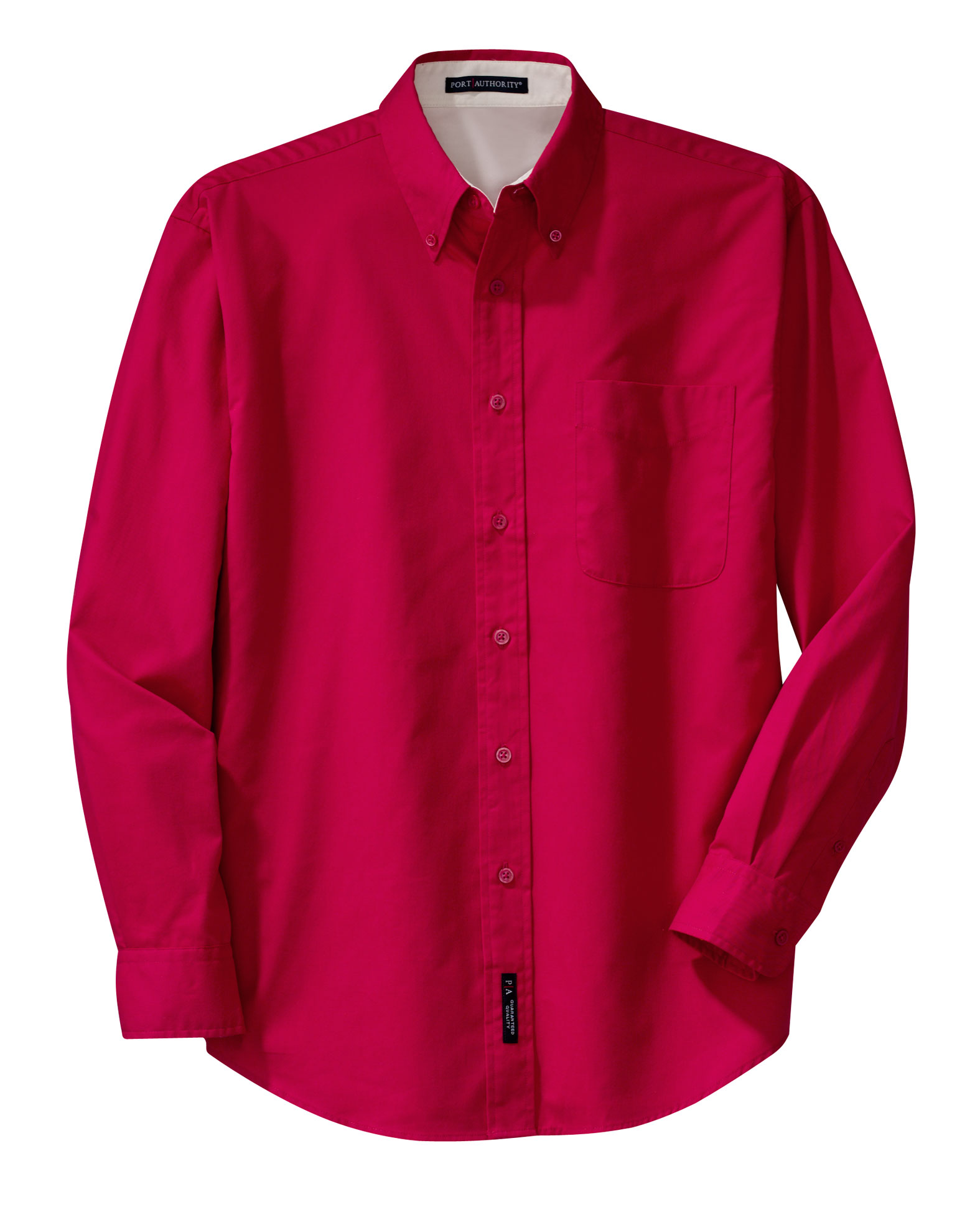 Port Authority® Mens Extended Size Long Sleeve Easy Care Shirt