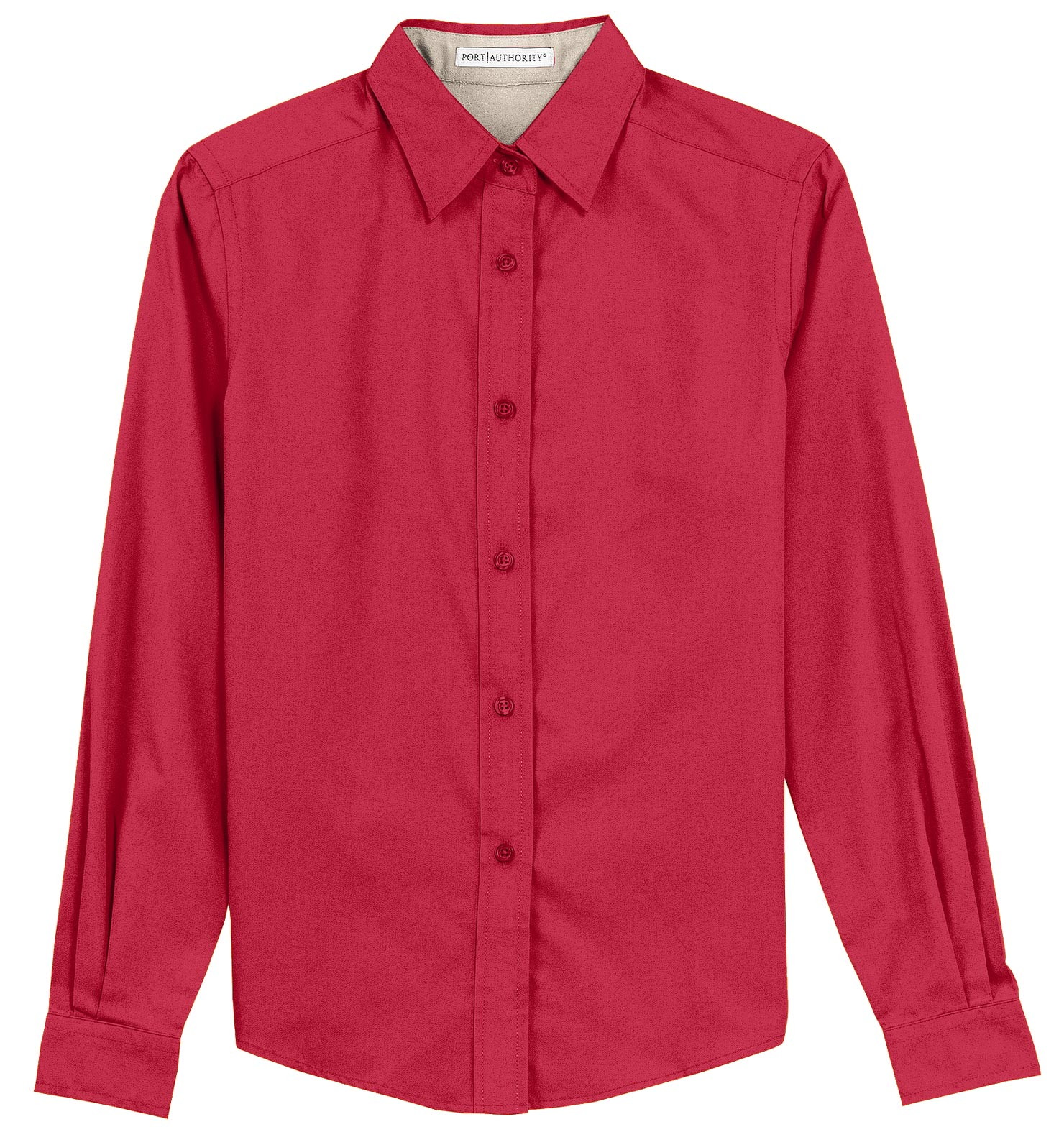 Ladies Long Sleeve Easy Care Shirt (S - 6XL)