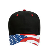 Custom The Patriotic Look Structured Firm Front Panel Cap