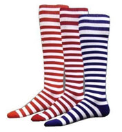 Intermediate Mini Hoop All Sport Socks by Red Lion
