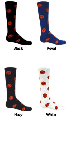 Intermediate Red Lion Basketball Socks - All Colors