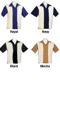 Childs Rocabilly 80s Bowling Shirts - All Colors
