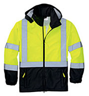 Custom CornerStone® Mens ANSI 107 Class 3 Safety Windbreaker