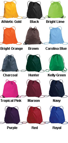 Cinch Pack With Matching Drawstrings - All Colors