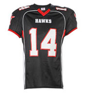 Custom Adult No Huddle Football Jersey Mens