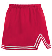 Ladies A-Line Cheer Skirt With V-Notch