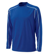 Custom Adult Long Sleeve Wicking T-shirt by Charles River Apparel