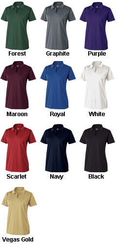 Ladies Clubhouse Polo by Holloway - All Colors
