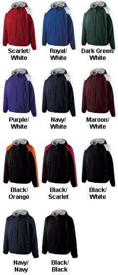 The Homefield by Holloway Lightweight Adult Sideline Jacket - All Colors