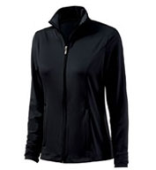 Custom Womens Fitness Jacket by Charles River Apparel
