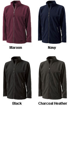 Boundary Fleece Adult Jacket by Charles River Apparel - All Colors