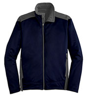 Mens Two-Tone Soft Shell Jacket