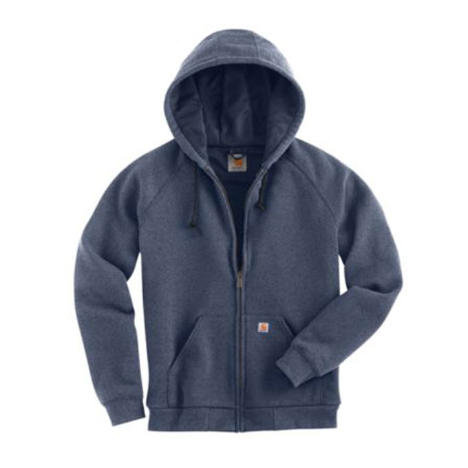 Womens Thermal-Lined Zip-Front Hooded Sweatshirt by Carhartt