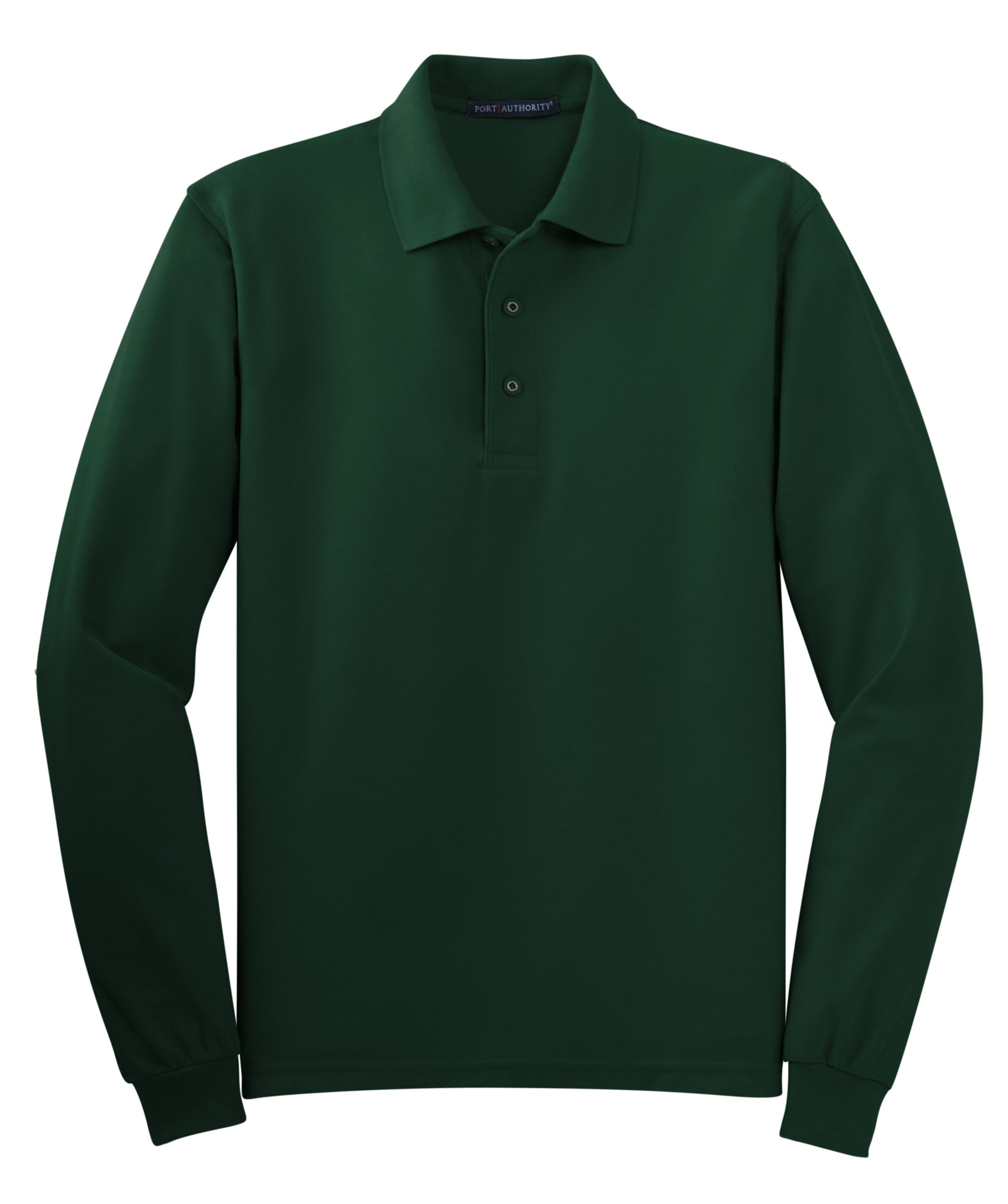 Port Authority® Mens Silk Touch™ Long Sleeve Polo
