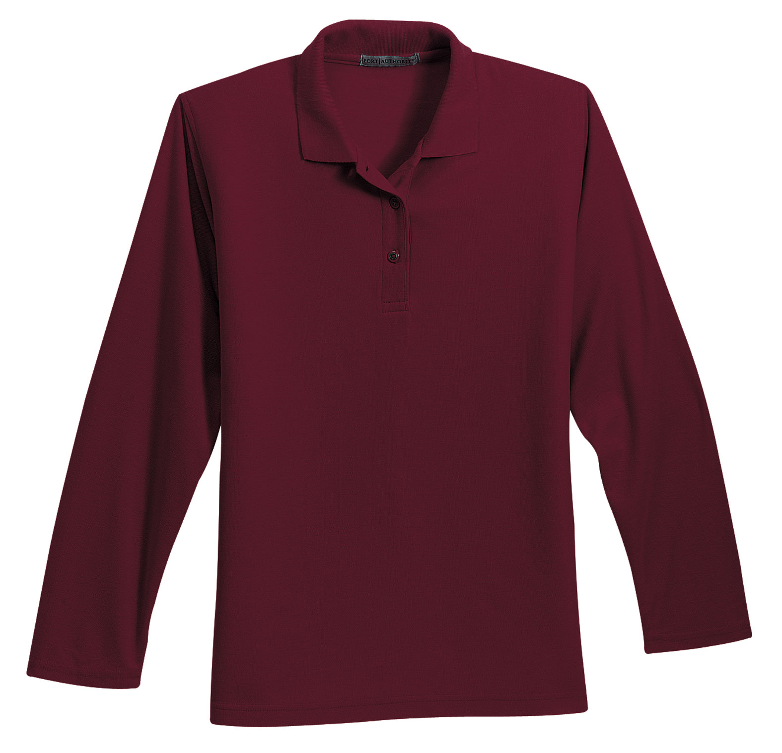Port Authority® Ladies Long Sleeve Silk Touch™ Polo