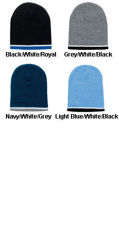 Tri-Color Stylish Beanie - All Colors